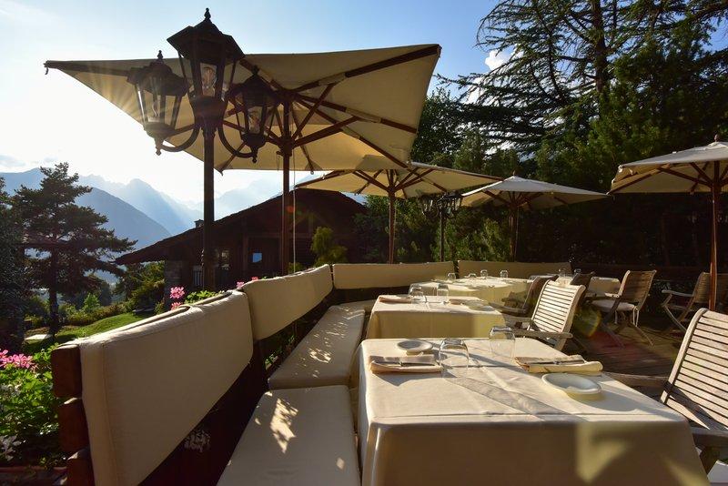 Le Mont Blanc Outside Restaurant