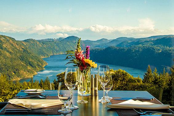 Alpina Restaurant - view