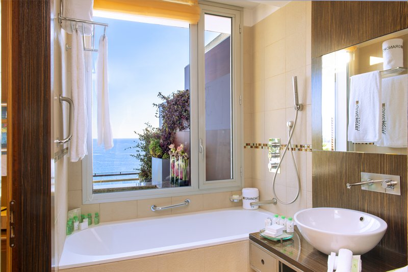Bathroom of the Panoramic room