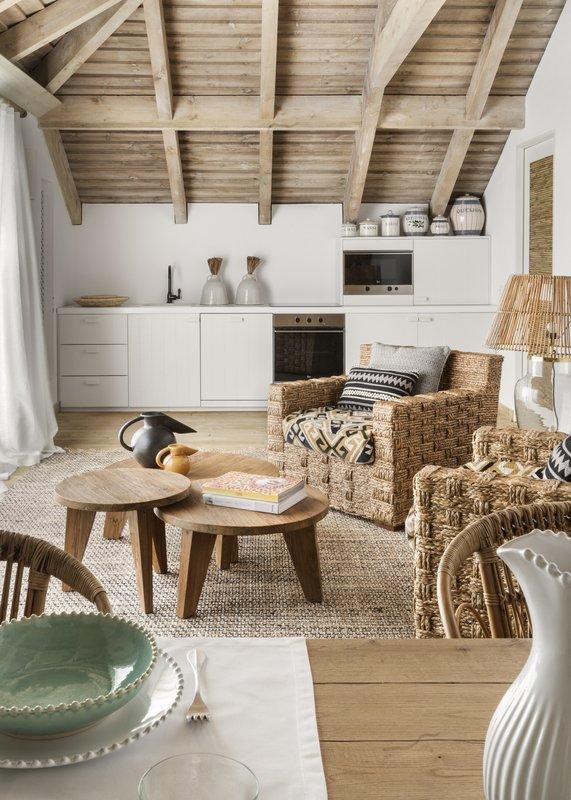 Quinta Da Comporta –Rooftop Suite- Living room