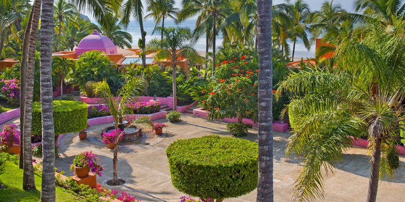 Las Alamandas Hotel stunning private gardens