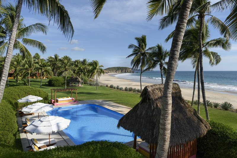 Las Alamandas Hotel pool view