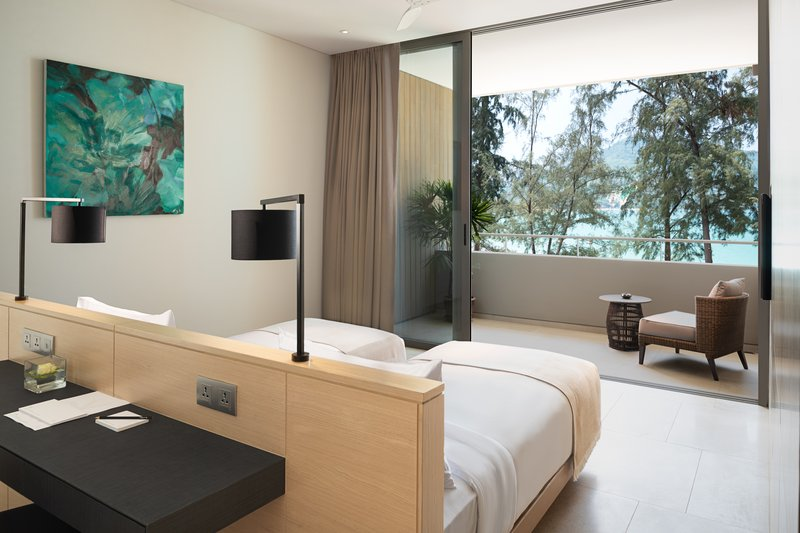Azure Sea View Penthouse Bedroom