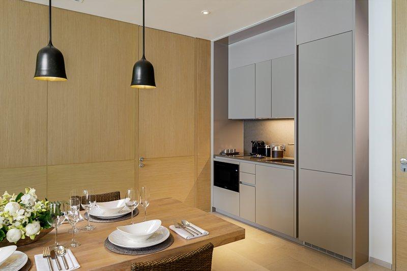 Azure Sea View Penthouse Kitchen