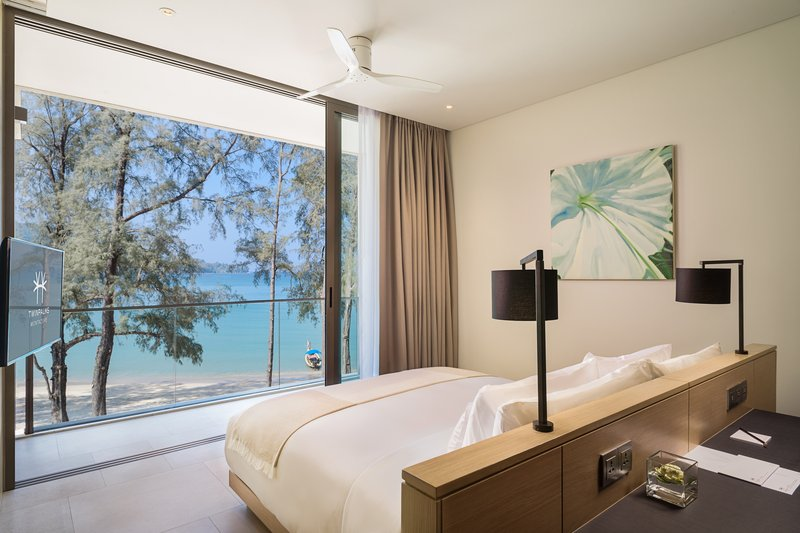 Azure Sea View Penthouse Master Bedroom
