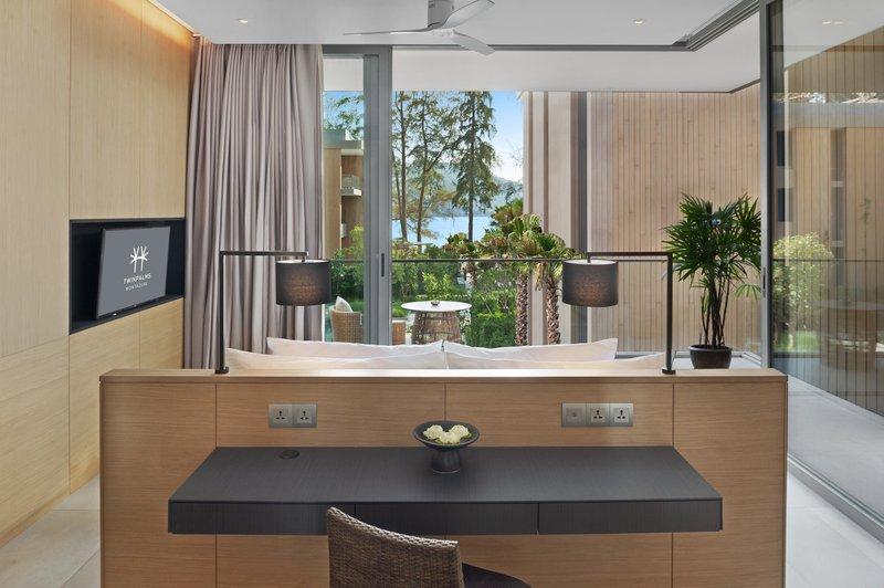 Azure Sea View Suite Bedroom