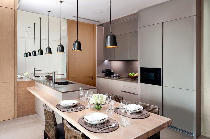 Azure Sea View Suite Kitchen