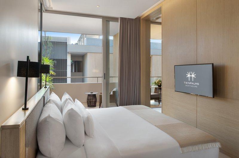 Azure Suite Bedroom