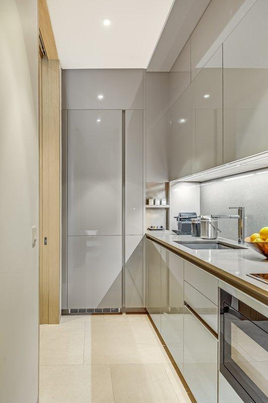 Grand Azure Private Pool Suite Kitchen