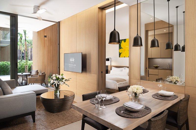 Grand Azure Suite Dining Room