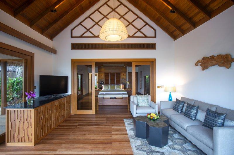 Baros Suite Indoor Living Area