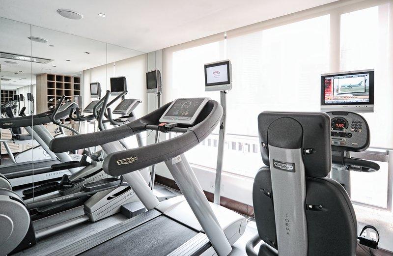 Cardio Gym At Naumi Hotel