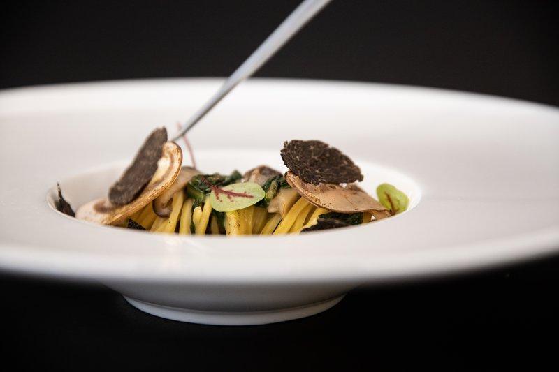 Spaghetti Tartufo