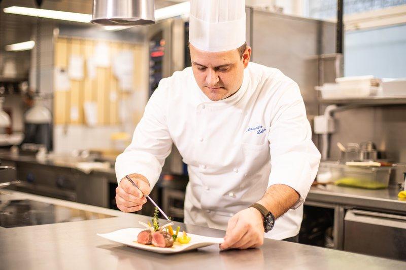Chef Alessandro Boleso
