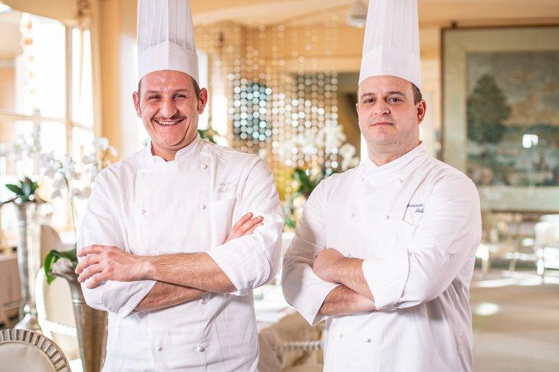 Chef Boleso & Sous Chef Bellazzo