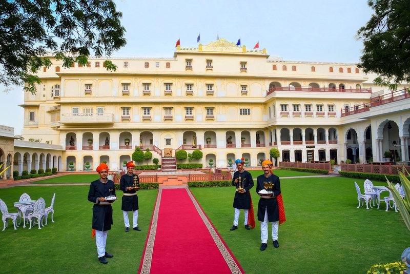 The Raj Palace , Front Facade