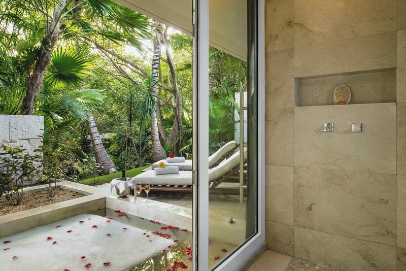 Patio Jr Suite Outdoor Bathtub And Shower