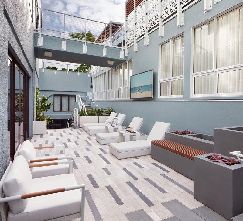 Spa Courtyard