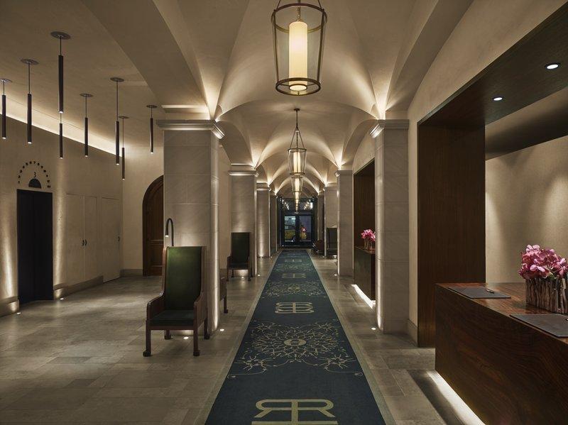 Lobby Arcade Entrance