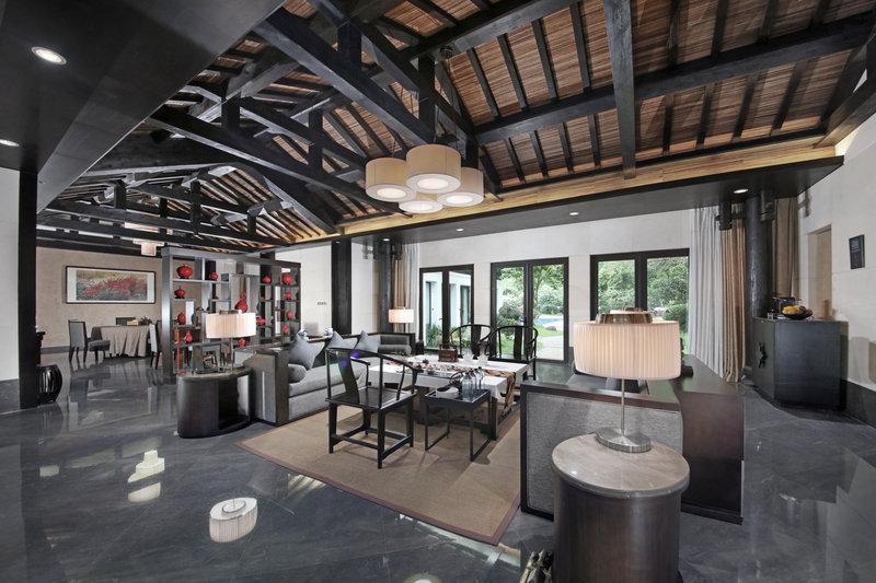 Living Room Palace Wind Villa