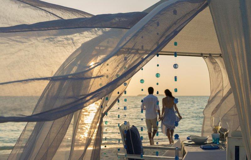 Blue Beach Romantic