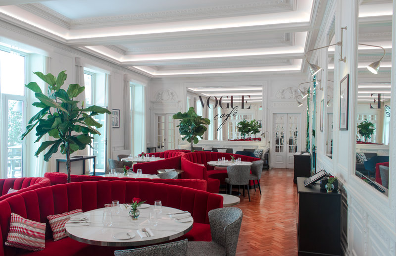 Vogue Café indoor Dinning