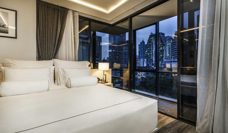 AkyraTAS 1BR Suite_ Bed