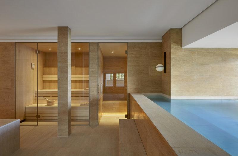 Sauna and Plunge Pool