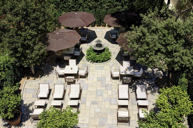Urban Garden Aerial View