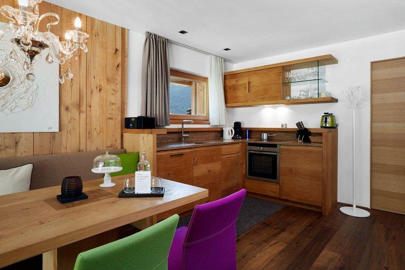 Two Bedroom Deluxe Suite Kitchen