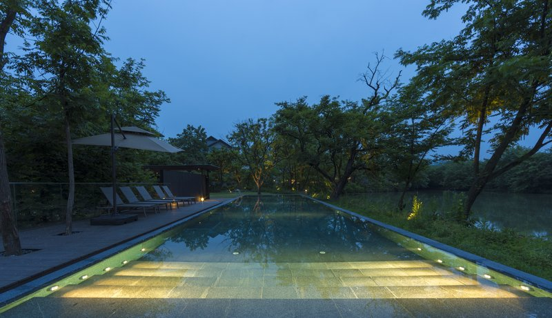 Forested Infinity Pool