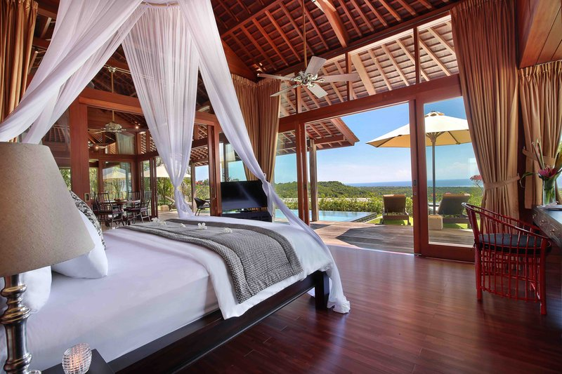 Two Bedroom Ocean View Pool Villa - Sanya Bedroom