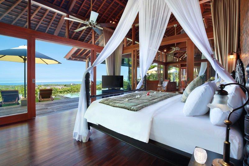 Two Bedroom Ocean View Pool Villa - Sekapa Bedroom