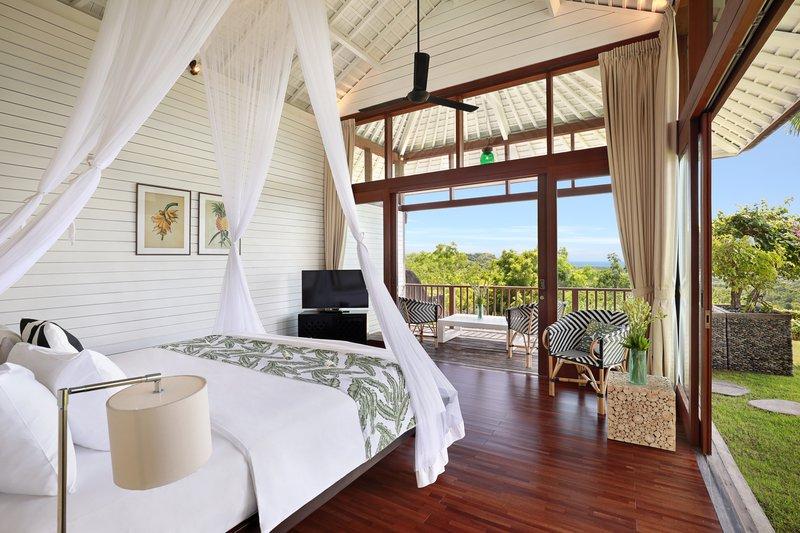 Three Bedroom Ocean View Pool - Bahamas Bedroom