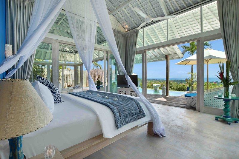 One Bedroom Ocean View Pool Villa - Santorini