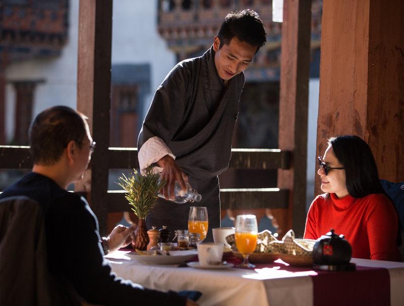 Monastery Breakfast