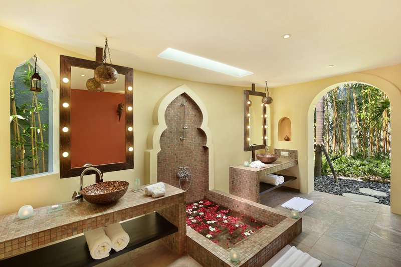 One Bedroom Ocean View Villa - Marakesh Bathroom