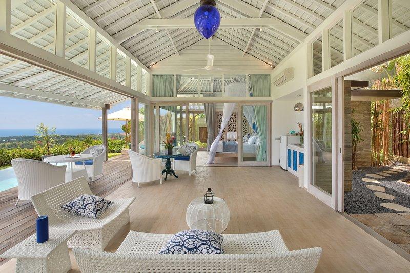 One Bedroom Ocean View Villa - Santorini Living