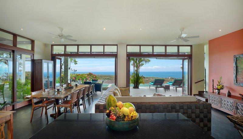 Five Bedroom Ocean View Pool Villa - Living Room