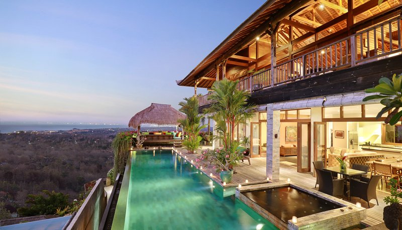 Private Pool at Five Bedroom Ocean View Pool Villa