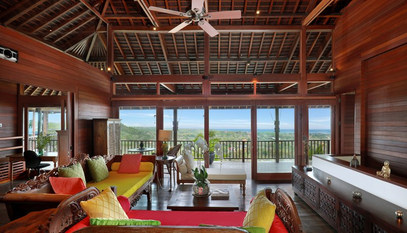 Five Bedroom Ocean View Pool Villa - Upstairs