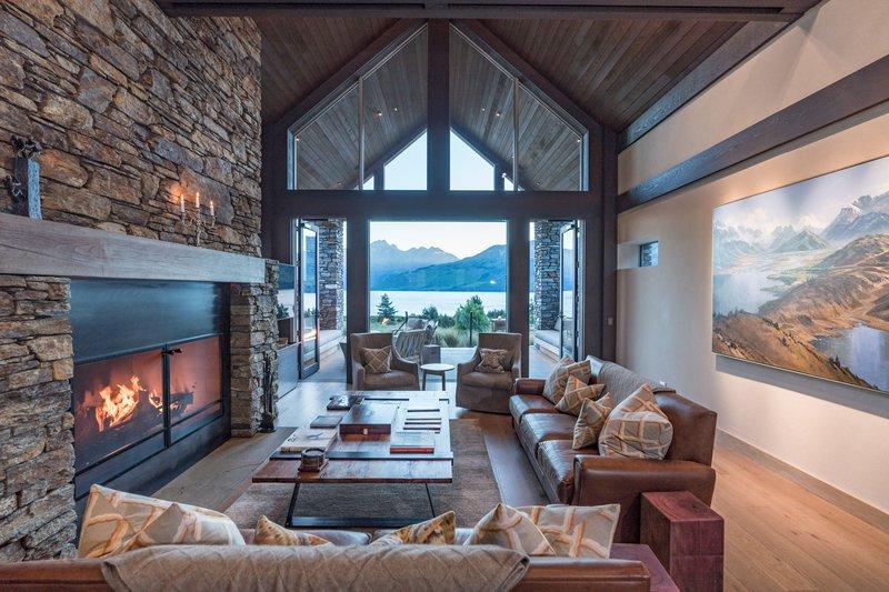 Blanket Bay Villa Lounge