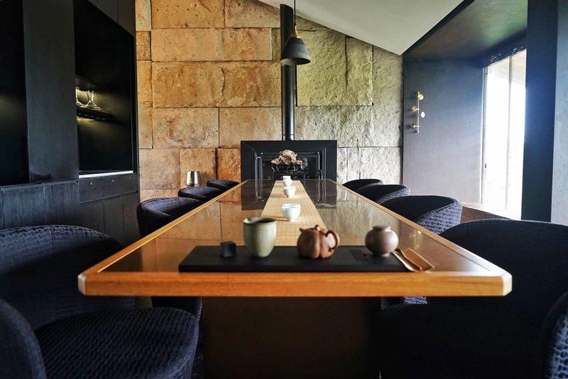 Persimmon Dining Room Tea Area