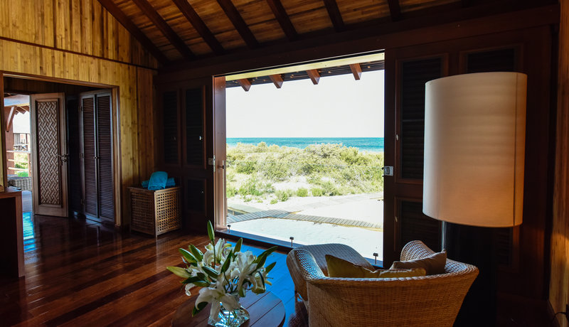 Beachfront Bedroom view