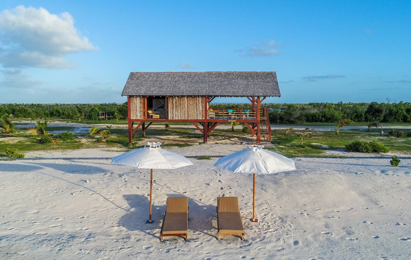 One of our seven beachfront bungalows