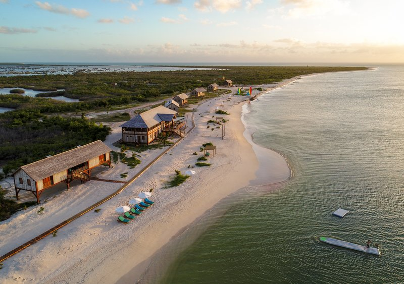 Barbuda Belle at sunset