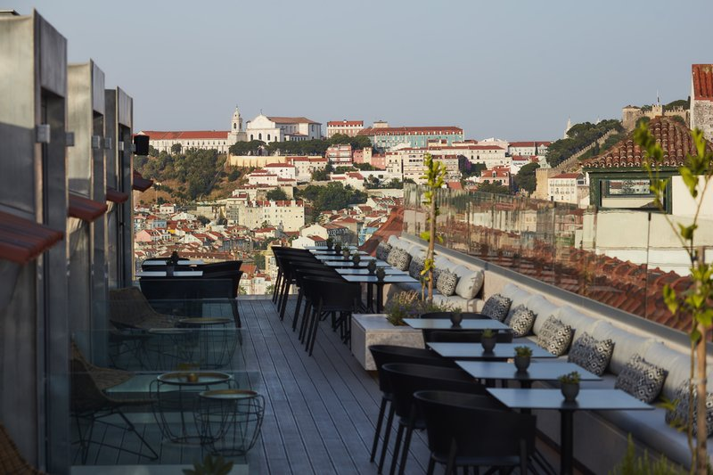 The Lumiares Hotel Spa Rooftop Lisbon Best View