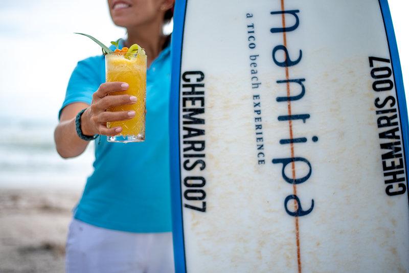 Surfing in Santa Teresa