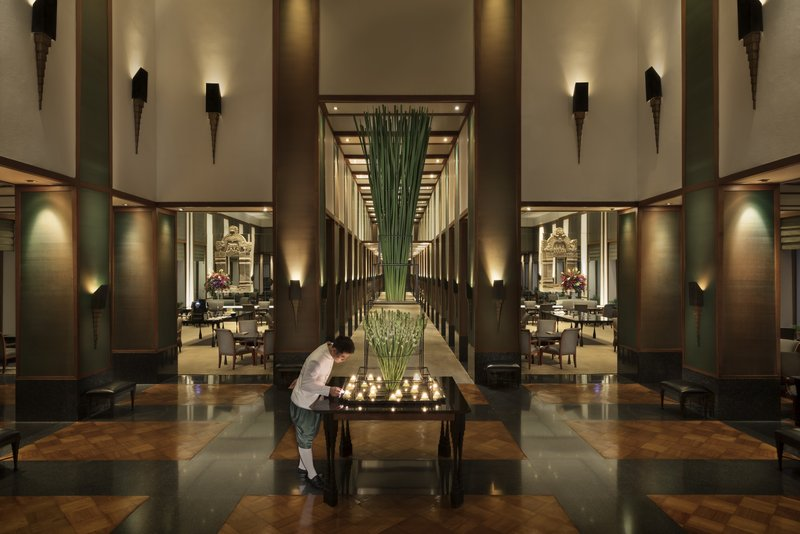 Luxury Lobby Candle Light