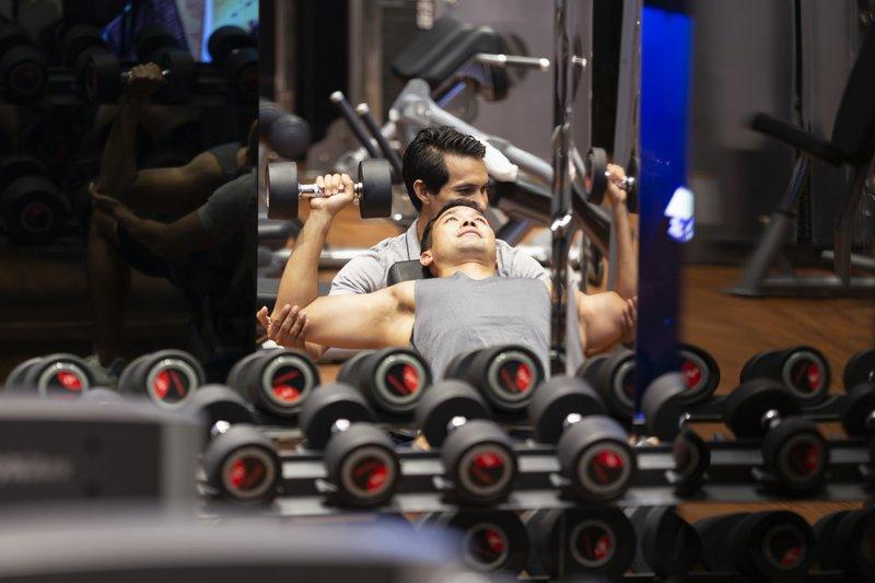 Modern Fitness Weight Lift